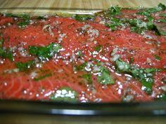 Fragrant baked salmon Easy, healthy salmon recipe