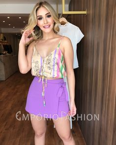 Classy Outfits, Beautiful Outfits, Lace Bra, Casual Looks, Short Dresses, Spring Summer, Shorts, Womens Fashion, Clothes