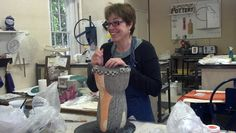 PatriciaGriffin-WorkingStudio11 Great Blog with interesting ceramicist interviews