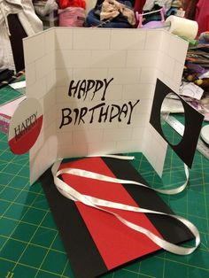 This is to show the way the pink floyd birthday card opens the inside of the pink floyd birthday card i made for my brother with its bookmarktalkfo Image collections