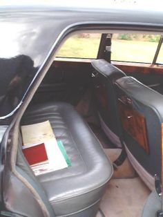 More leather and picnic tables - back seat passengers even had a separate heater.
