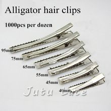 Wholesale Kids Hair Accessory Hairpin - a variety of optional size single prong alligator clips