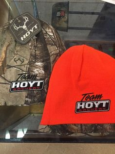 Hoyt Reversible Beanie New Blaze/realtree #Whitewater