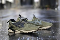 Footpatrol has joined forces for a second time with ASICS, producing a GEL-Kayano inspired by the very nomenclature of the London shop's name: namely, the army surplus equipment hauled by soldiers while on foot patrol. Consequently, the shoe is built with waterproof suede in military green, accented with … READ MORE