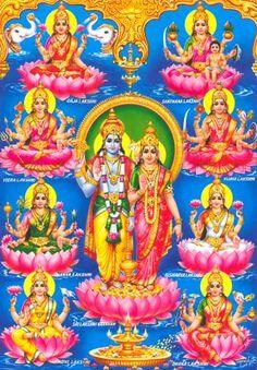 LaxmiNaryan And Ashta Laxmi 8 Forms of Goddess Laxmi Shiva Parvati Images, Durga Images, Lakshmi Images, Ganesh Images, Lord Krishna Images, Radha Krishna Pictures, Krishna Art, Ganesha Pictures, Hare Krishna