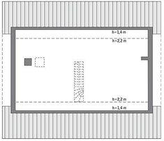 Projekt domu Murator C333u Miarodajny - wariant XVIII 99,20 m² - koszt budowy - EXTRADOM 20 M2, Home Appliances, House, Villa, Home, House Appliances, Appliances, Fork, Homes