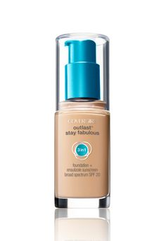 Look fabulous from 9 a.m. to 5 p.m. with NEW Outlast Stay Fabulous 3-in-1 Foundation.