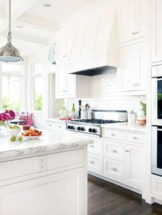 White Kitchen Inspiration (via Bloglovin.com )