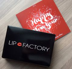 Lip Factory Makeup Subscription Box Review - January 2014 Review