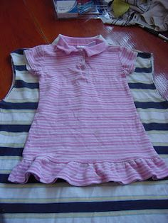 """Now before we begin I'd like to put forth a disclaimer. I made this """"pattern"""" up. it's not perfect, but it makes up a cute dress. if you try..."""