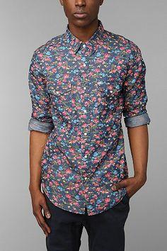Salt Valley Smoky Floral Western Shirt