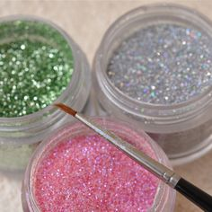 Edible Glitter Recipe   Just A Pinch Recipes  make it with salt instead for use in doll and faery glitter in a pinch. Also works well on salt dough landscapes for a kids project