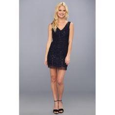 BCBGMAXAZRIA - Marissa V-Neck Dress (Dark Midnight) - Apparel - product - Product Review