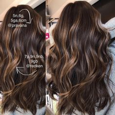 Long Wavy Ash-Brown Balayage - 20 Light Brown Hair Color Ideas for Your New Look - The Trending Hairstyle Brown Hair Balayage, Balayage Brunette, Hair Color Balayage, Brunette Hair, Hair Highlights, Haircolor, Brown Hair With Highlights And Lowlights, Fall Balayage, Short Balayage