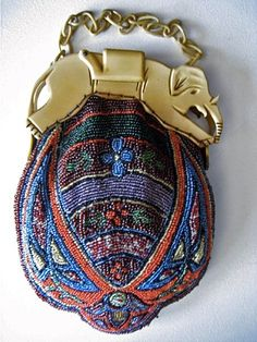 One Of My Favorite Egyptian Revival Purses It Has A Great