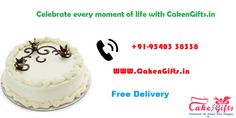 CakenGifts.in is a great option which offers a variety of fresh and best quality of cakes and it also provides at reasonable prices.