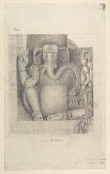 Titel   Ellora: Sculptures from Dasavatara Cave f.21   Draughtsman : Amanta…