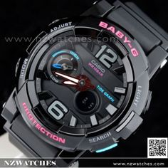 BUY Casio Baby-G G-Lide Moon Tide graph Thermometer Sport Watch BGA- 8ce0084b01