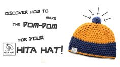 "How to make the ""PomPom"" for your Hita Hat! #tutorial #video #howto #hat #craft #yarn #pompom #pompon #creativity #handmade #diy #doityourself #hitahat #adriafil #wool #alpaca #moda #fashion #knitwear"