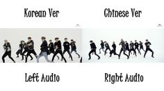 EXO - CALL ME BABY (Korean Chinese MV Comparison) Cant really compare coz i loveeee both the versions.