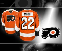 Luke Schenn Philadelphia Flyers Autographed Jersey . $367.65. This is an official licensed Luke Schenn Philadelphia Flyers Autographed Jersey. The jersey is brand new from RBK with all of the lettering and numbering professionally sewn on. To protect your investment, a Certificate Of Authenticity and tamper evident hologram from sportauthentix is included with your purchase. This is a stock photo. Please not that the autograph may be in a different location than t...