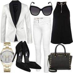 White Class #fashion #mode #look #outfit #style #stylaholic #sexy #dress