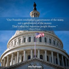 We can and must break the grip of special interest on our politics. The bipartisan Government by the People Act will help ensure America has a government of the many, not a government of the money. Read about the legislation: http://goo.gl/665YA6 #ByThePeople