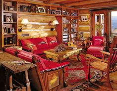Rustic Office/Library in Snowmass Village, Colorado