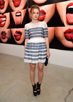 Holland Roden - Tyler Shields Debuts MOUTHFUL Presented By A/X Armani Exchange In Support Of LOVE IS LOUDER