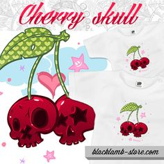 Black lamb babaruha - Cherry skulls http://blacklamb-store.com/cherry-skull.html