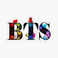 Preppy Stickers, Cute Laptop Stickers, Baby Stickers, Anime Stickers, Printable Stickers, Kawaii Stickers, Pretty Wallpapers, Cute Cartoon Wallpapers, First Love Bts