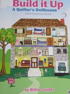 Out of print paper pieced dollhouse quilt pattern
