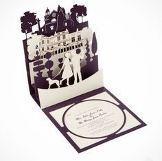18 Laser Cut Wedding Invites We Love | Brit + Co