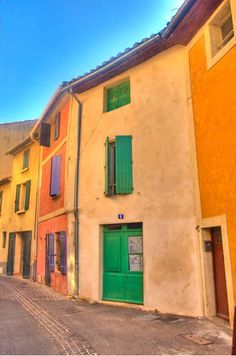 Colourful Street in Cassis France