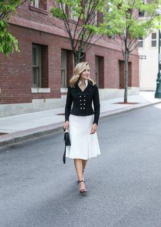 Classic Ivory Dress | MEMORANDUM | NYC Fashion & Lifestyle Blog for the Working Girl