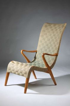Armchair, Designed By Axel Larsson For Svenska Möbelfabrikerna, Bodafors,  Ca 1937. At