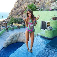 Trina Turk one piece swimsuit