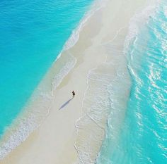 Mierzeja na Malediwach.