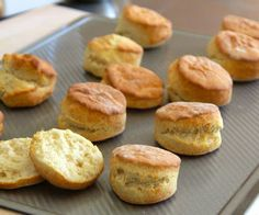 Biscuit recipe ~ I had to throw out the Bisquik (It was old and funky tasting) that I normally make dumplings and biscuits to go with my chicken pot pie recipe.  I found this recipe and used it.  Great dumplings and biscuits!