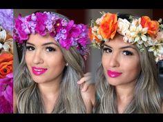 Como fazer Coroa de Flores - YouTube