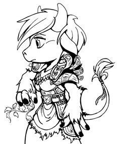 If only female Tauren's actually looked this cute