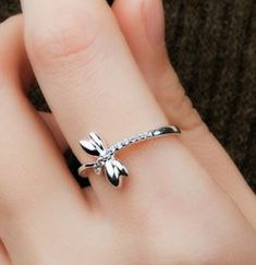 How can a cutie be cuter? Here you go, DragonFly ring!