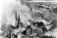 On March 28th 1942, Bomber Command attacked the city of Lűbeck. A great deal of damage was done to the most historic part of the city known as the 'Old Town'. In total, over 1,000 people were killed and the 'Old Town', which was primarily made up of old wooden buildings, was all-but destroyed by incendiary bombs. Hitler was incensed and ordered retaliatory raids against similar targets.
