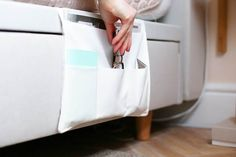 Declutter Your Bedside with This Easy DIY Caddy