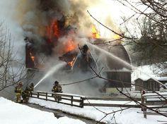 Fire at London's Storybook Gardens destroys livestock barn (JENNIFER O'BRIEN, The London Free Press)