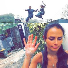 Fast Five - Jordana cut her hand during that roof sequence Fast And Furious Letty, Fast And Furious Actors, Fast & Furious 5, The Furious, Paul Walker Death, Paul Walker Movies, Charmed Book Of Shadows, Dominic Toretto, Fast Five