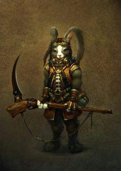 Rabbit Warrior~