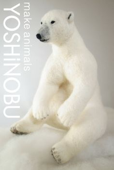 Takashimaya Exhibition YOSHiNOBU wool felt polar bear