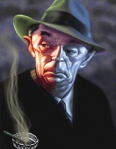 Robert Mitchum Artist: Bob Doucette website: http://www.bobdoucette.com