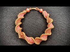 Flat Spiral Beading Bracelet 💎 Beading Tutorial - YouTube